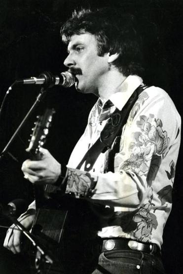 Tom Rush at Symphony Hall in 1981.
